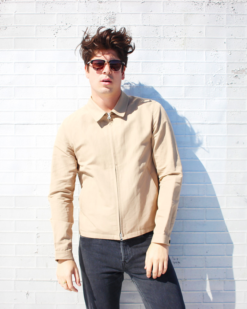 Yummertime men's fall jackets, camel