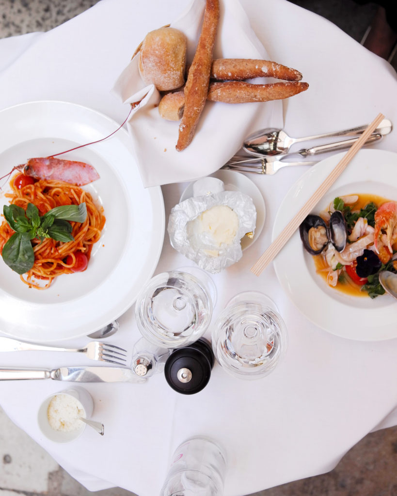 Hotel Costes Paris, Lobster spaghetti