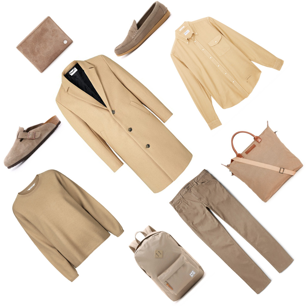 Yummertime Men's Fall trends, camel