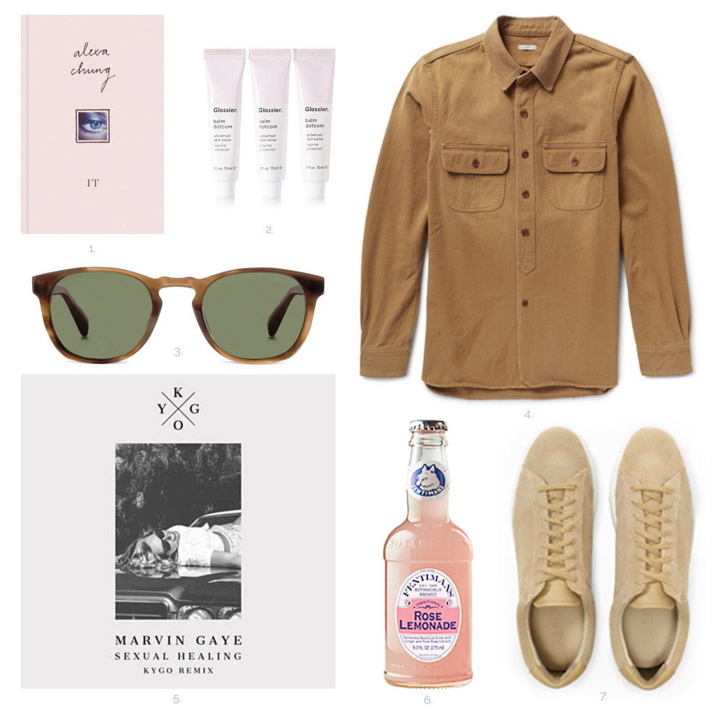 Yummertime pre-fall trends camel, Zespa shoes, Warby Parker