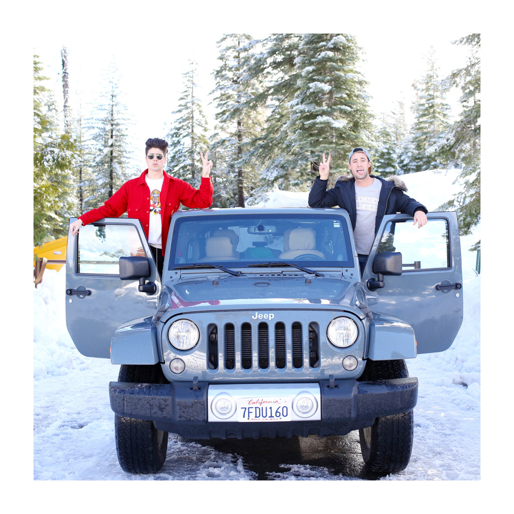 Yummertime, Getaround booked Jeep for weekend trip