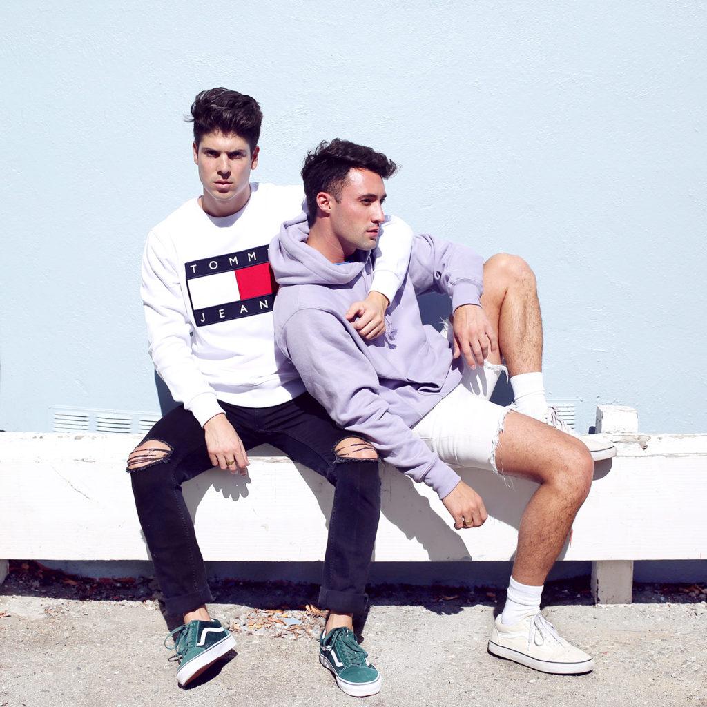 Yummertime Instagram featuring Tommy Jeans Sweatshirt and Vans Old Skool Sneakers