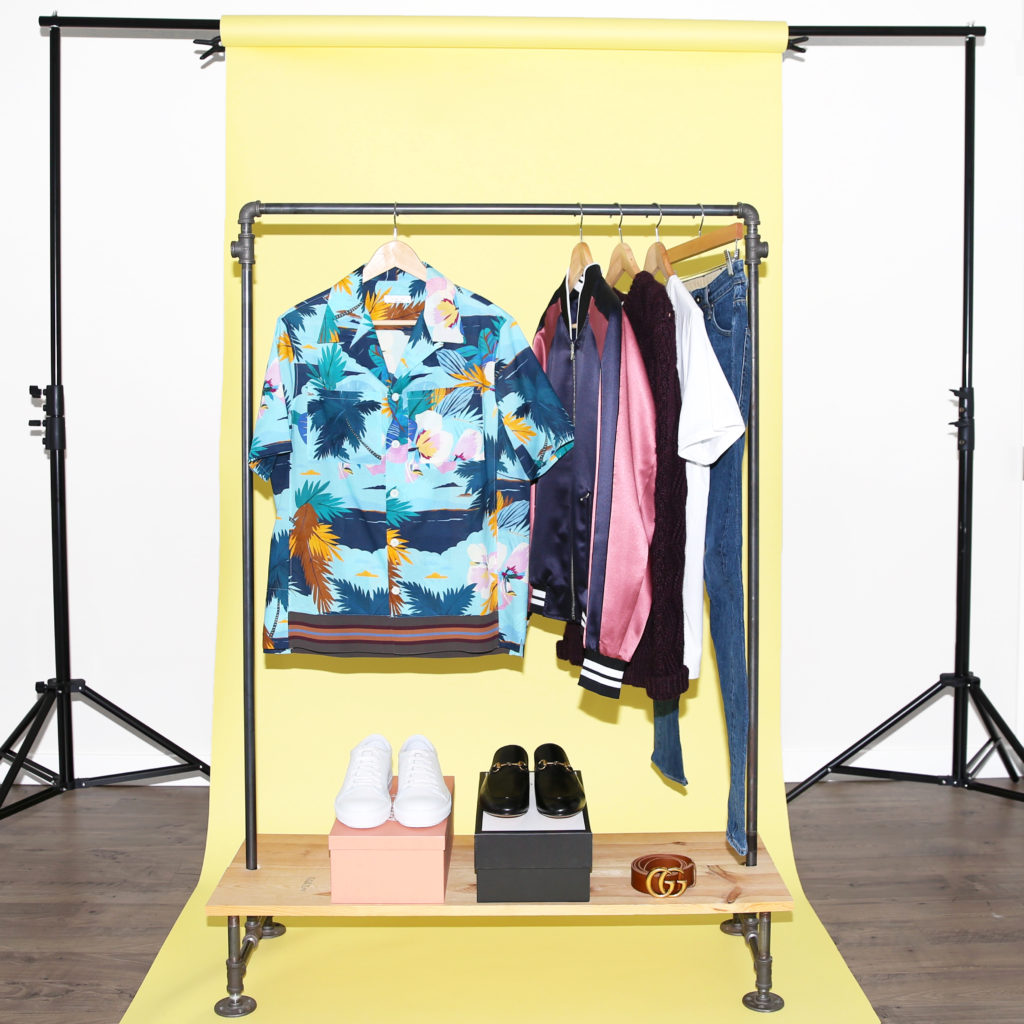 Colorful camp collar shirt and bomber jacket for New York Fashion Week Mens from MR PORTER