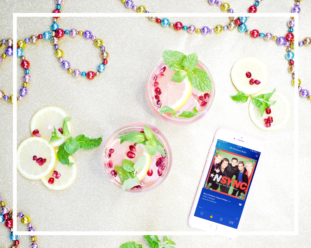 Yummertime cocktail party paired with best Pandora holiday playlist