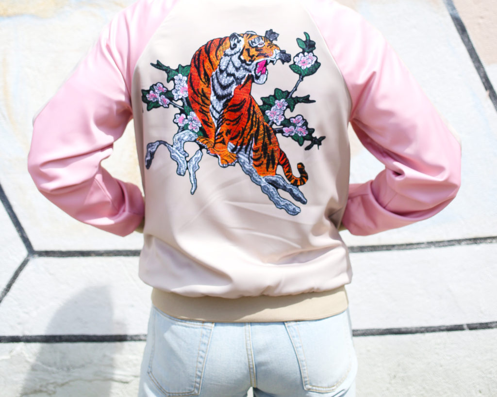 Men's Satin Souvenir Jacket