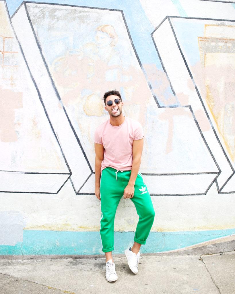 Men's Adidas Track Pants