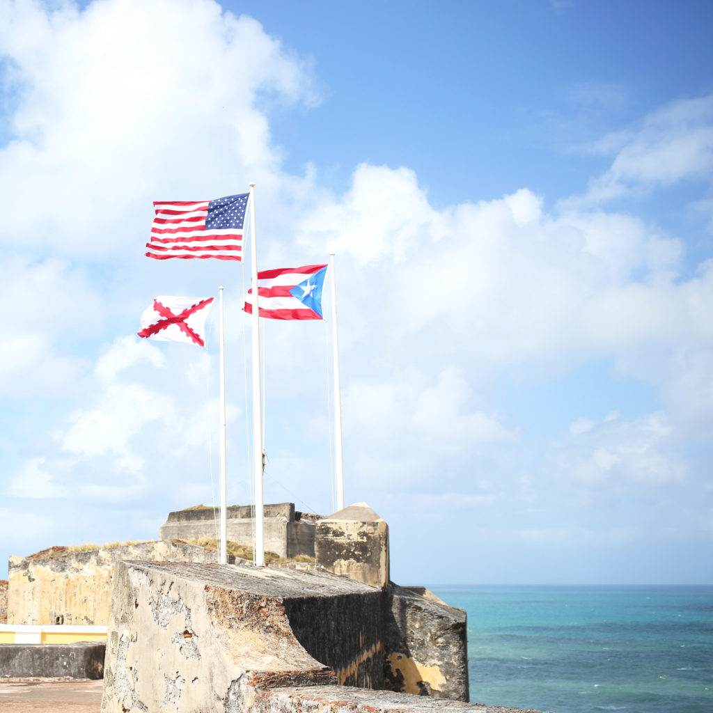 Sightseeing in San Juan, Puerto Rico