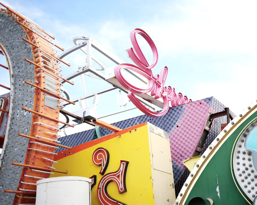 Yummertime The Neon Museum in Las Vegas, Nevada