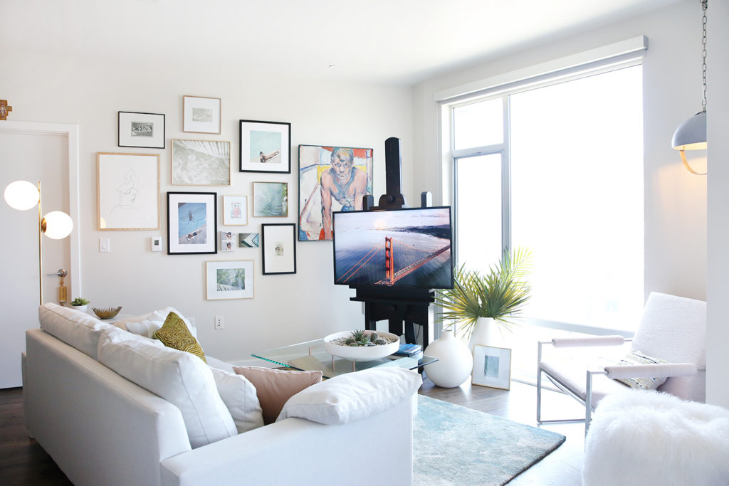 Yummertime apartment tour by West Elm Design Crew