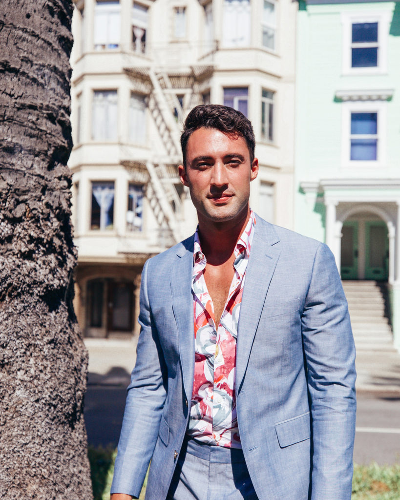 Summer suiting, two ways