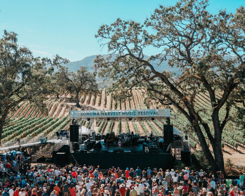 Sonoma Harvest Music Festival at B.R. Cohn Winery