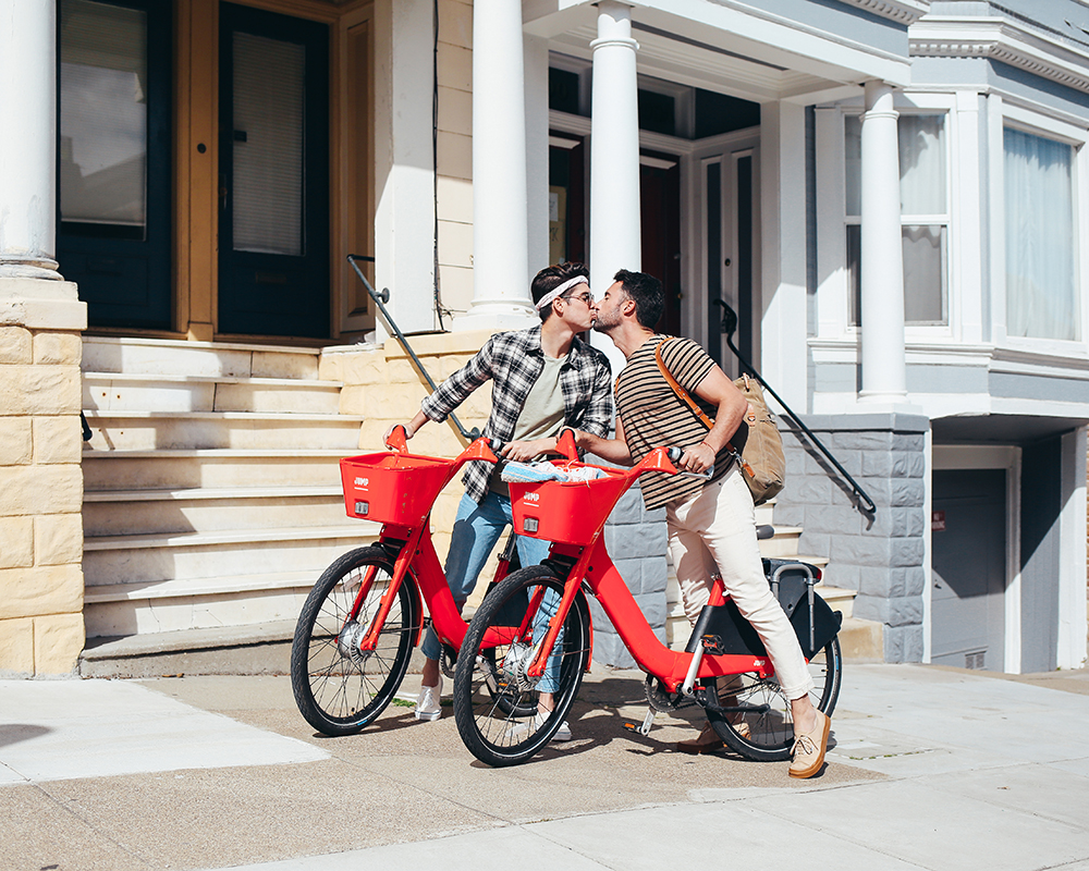 Uber Bike, San Francisco Yummertime