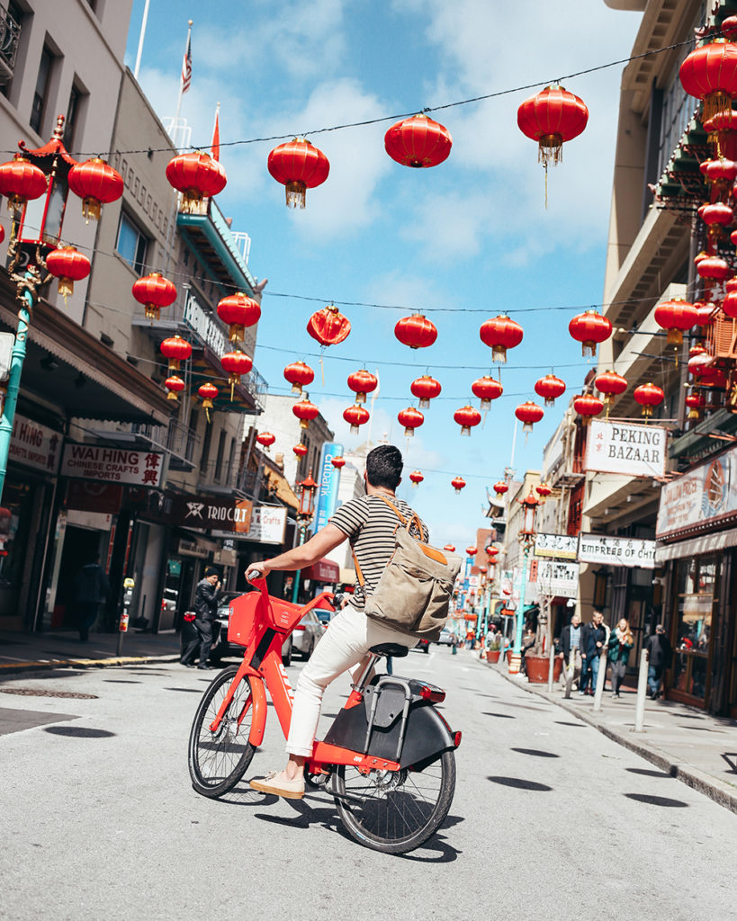 What are the red JUMP bikes in San Francisco? Uber Bike