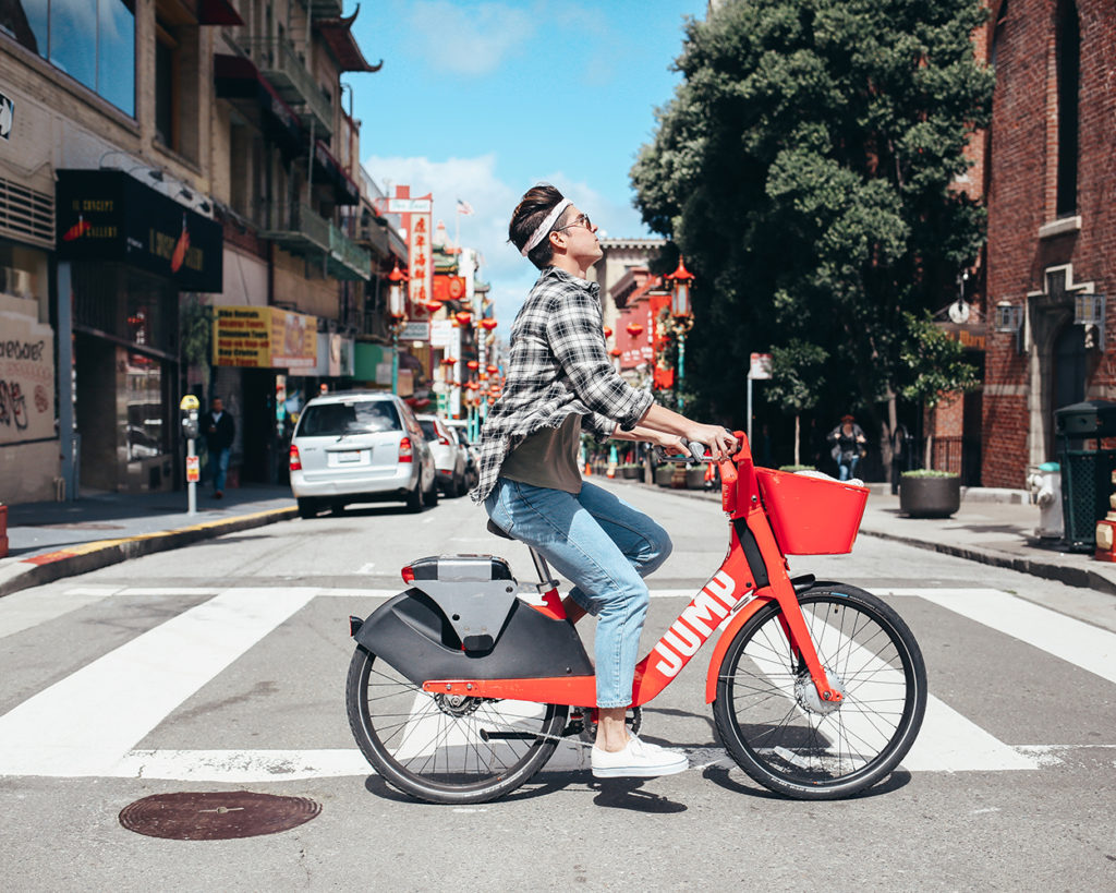 What are the JUMP bikes in San Francisco? Uber Bike x Yummertime