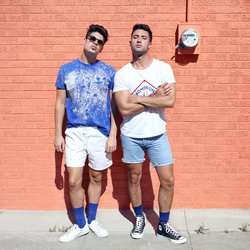 Men's Style Uniform for Fall: Socks and Shorts
