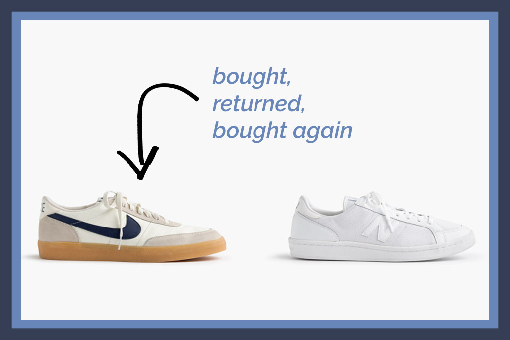 Yummertime's men's sneakers selects, J. Crew sneakers