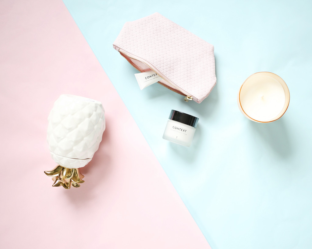 yummertime gift guide with west elm and Context Skincare